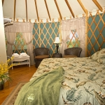 yurt king bed