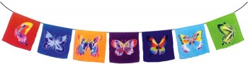 Butterfly Prayer Flag