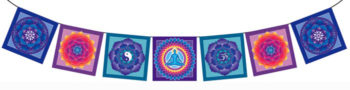 Meditation Mandala Flag